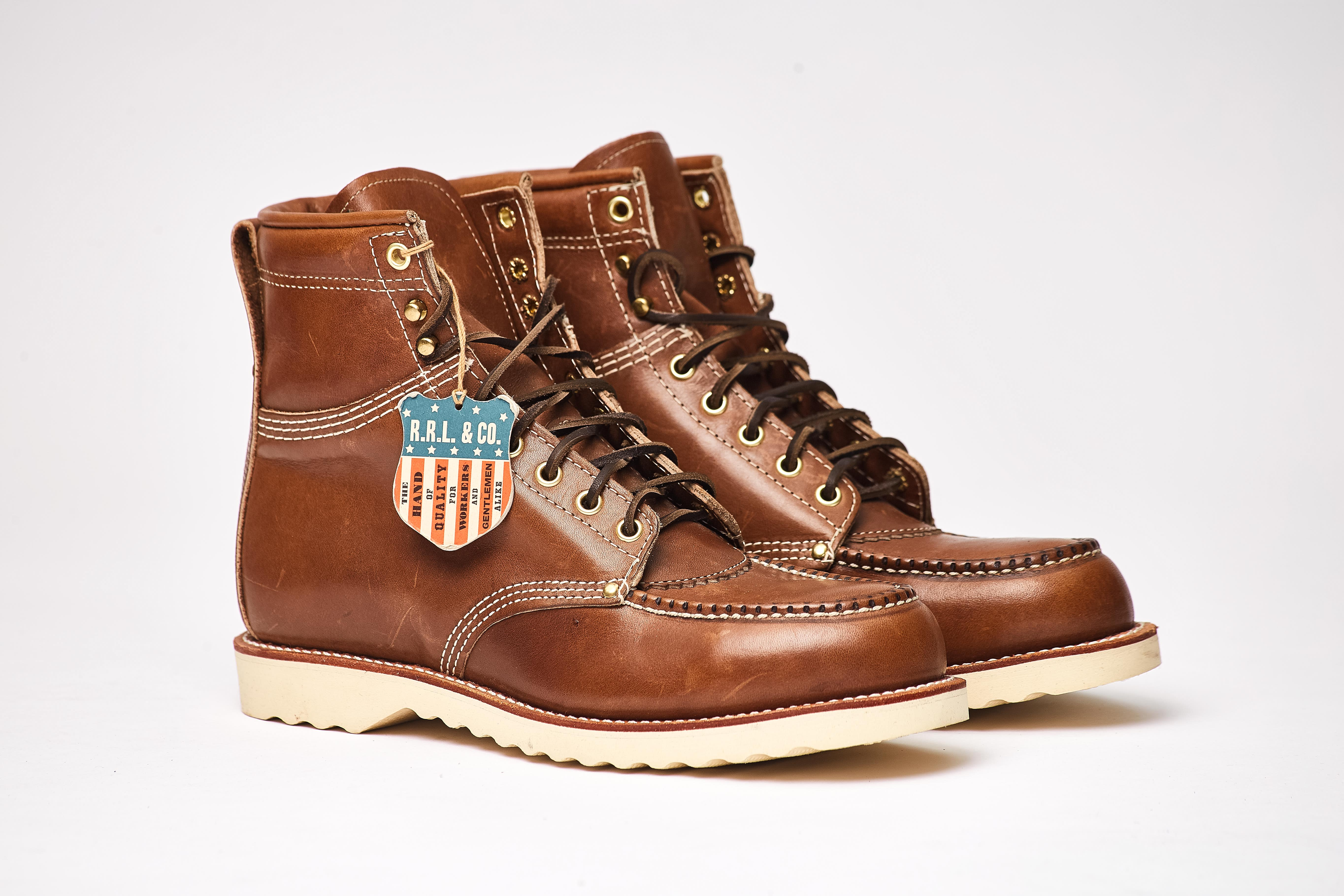 brunel leather work boot