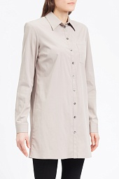 Рубашка Michael Kors Long-Sleeve Button-Front Long Shirt