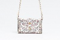 Сумка-кошелек Tory Burch Hicks Garden Party Chain Wallet