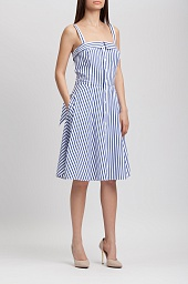 Платье Ralph Lauren Bengal Stripe Fit Dress
