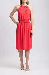 Платье Michael Kors Women's Hayden Chain-Neck A-Line Dress