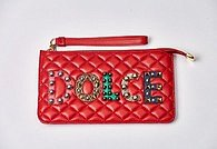 Клатч Dolce & Gabbana Red Pouch