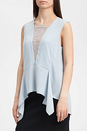 Топ BCBGMAXAZRIA Whitlee Lace-Blocked Top