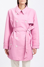 Плащ Ralph Lauren Taffeta Double-Breasted Trench Coat