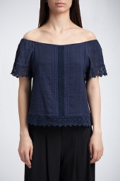 Топ Alice + Olivia Jules Off-The-Shoulder Top