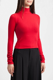 Топ Alice + Olivia Garrison Turtleneck Top