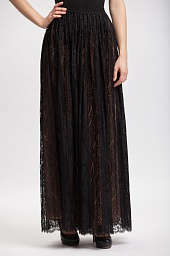 Юбка Michael Kors Paisley Lace Pleated Maxi Skirt