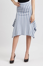 Юбка BCBGMAXAZRIA Eden Striped Skirt