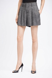 Шорты Alice + Olivia Eloise High Waist Pleat Shorts