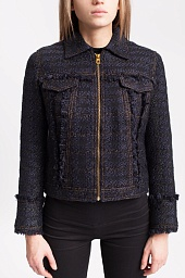 Куртка Tory Burch Aria Tweed Jacket
