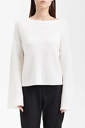 Свитер Alice + Olivia Melania Bell-Sleeve Sweater