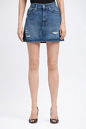 Юбка Levi's Ladies Destructed Denim Skirt