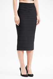 Юбка Herve Leger Novelty Bandage Pencil Skirt