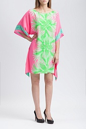 Туника Lilly Pulitzer Julie Silk Caftan Dress