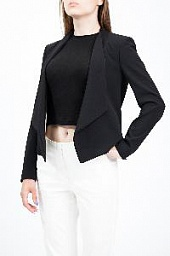 Блейзер Alice + Olivia Draped Shawl Collar Blazer