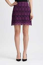 Юбка Alice + Olivia Riley Floral Lace Mini Skirt