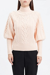 Свитер BCBGMAXAZRIA Balloon Sleeve Turtleneck Sweater