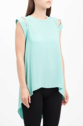 Топ BCBGMAXAZRIA Calin Cold-Shoulder Top