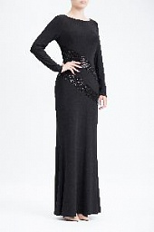 Платье Ralph Lauren Womens Sequin Trim Gown Dress