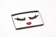 Футляр для карт Alice + Olivia Winking Stace Face Card Case