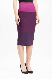 Юбка BCBGMAXAZRIA Color-Blocked Pencil Skirt