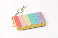 Кошелек Alice + Olivia Avril Rainbow Leather Small Wallet