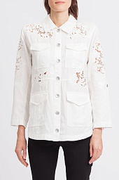 Рубашка Alice + Olivia Edyth High/Low Dress Shirt