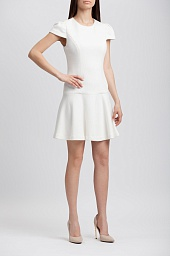 Платье Alice + Olivia Darleen Drop Waist Textured Dress