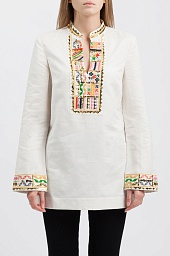 Туника Tory Burch Embellished Tunic