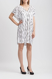 Платье Alice + Olivia Nola Linen Tunic Dress