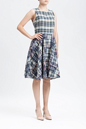 Платье Ralph Lauren Madras Fit-and-Flare Dress
