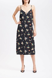 Платье RVCA Maddox Floral Midi Slip Dress