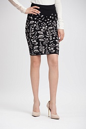 Юбка BCBGMAXAZRIA Alexa Floral Pencil Skirt