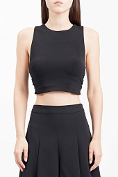 Топ Alice + Olivia Tayla Halter Crop Top