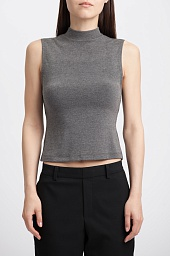 Топ Alice + Olivia Randall High Neck Crop Top