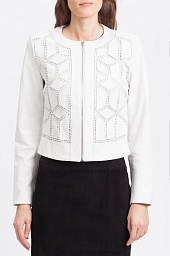 Куртка Bagatelle Perforated Zip-Front Jacket