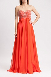 Платье Sherri Hill Short Beatiful Flowy Dress 1929