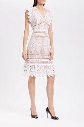 Платье Michael Kors Medallion Lace Dress