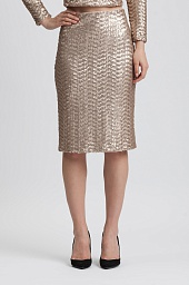 Юбка Alice + Olivia Ramos Sequin Pencil Skirt