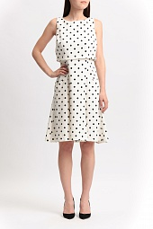 Платье Ralph Lauren Sleeveless Polka-Dot Dress