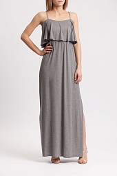 Платье Alice + Olivia Debra Off the Shoulder Maxi Dress