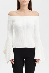 Топ BCBGMAXAZRIA Stevie Off-The-Shoulder Top