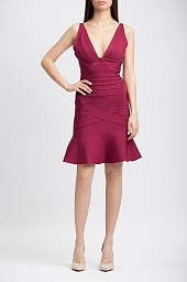 Платье Herve Leger Bandage Flare Dress