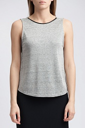 Топ Alice + Olivia Alice + Olivia Kassie Sleeveless Cowl Back Crop Top